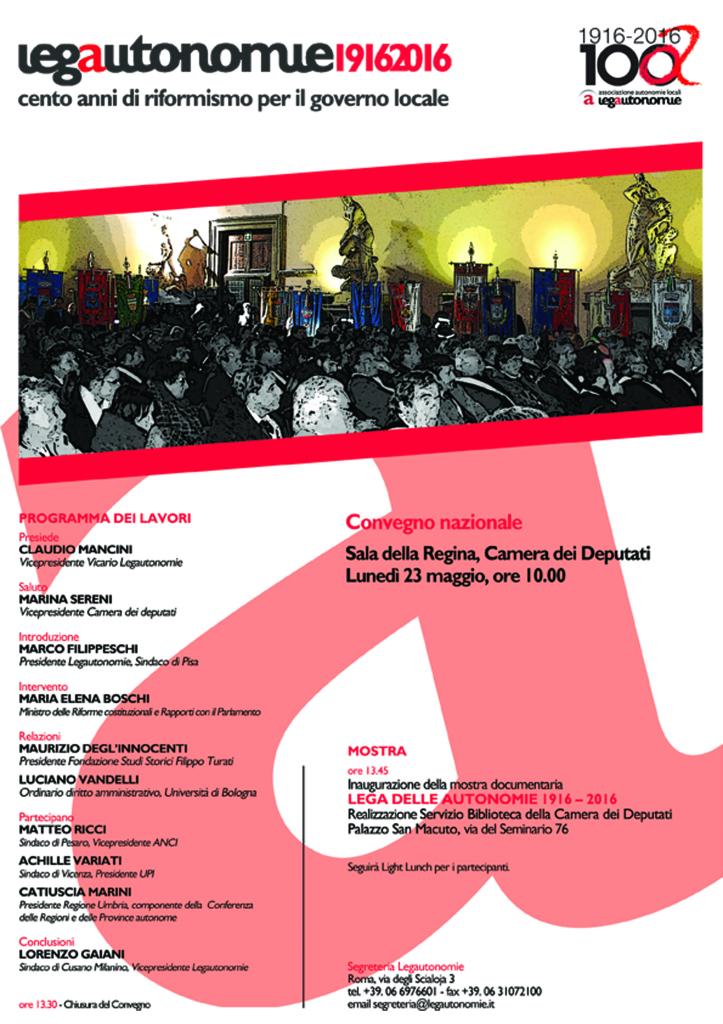 Programma Centenario 23 maggio 2016 _ h 10 Sala della Regina Montecitorio_b