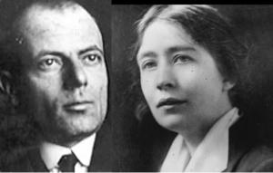 Silvio Corio e Sylvia Pankhurst
