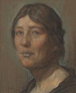 Sylvia Pankhurst (ritratto di Herbert Cole), fondatrice e animatrice del Women's International Matteotti Committee