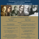 Programma Convegno Mostra Galliano Magno locandina verticale14gennaio