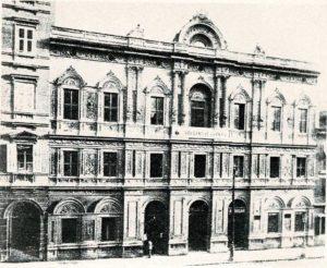 1- la nuova sede dell'Amministrazione Centrale delle Cooperative operaie di Trieste