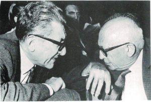 Con Pietro Nenni