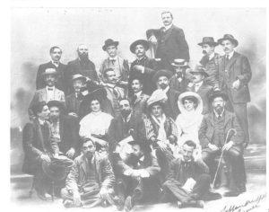 Delegati al X Congresso nazionale del Partito socialista italiano, Firenze, 19-22 settembre 1908.